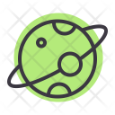Planet Moon Space Icon