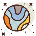 Planet Space Earth Icon