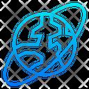 Planet Worldwide Earth Icon