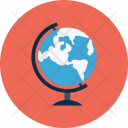 Planet Geography Earth Icon