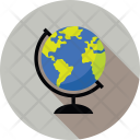 Planet Education Geography Icon