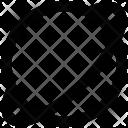 Planet Orbit Solar Icon