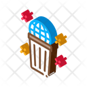 Planet Pollution Climate Icon