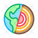 Planet Subsoil Electricity Icon