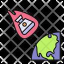 Planet Transformation Icon