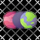 Earth Planet Transformation Icon