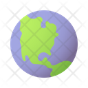 Earth Planet Solar System Icon