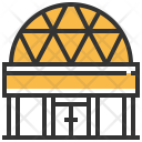 Planetarium Dome Research Icon