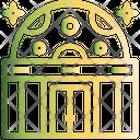 Planetarium Space Cosmos Icon