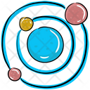 Galaxy Orbit Planets Icon
