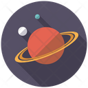 Planets Universe Astronomy Icon