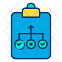 Planing Hierarchy Decision Making Icon