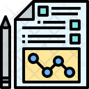 Planing Business Planning Business Strategy Icon