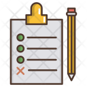 Planing Strategy Business Icon