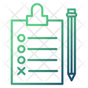 Planing Strategy Clipboard Icon