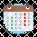 Calendar Daybook Datebook Icon