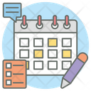 Planner Reminder Daybook Icon