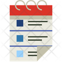 Planner Event Calendar Icon