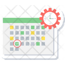 Date Time Calendar Icon