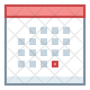 Planner Meeting Calendar Icon