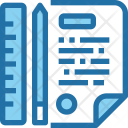 Planning Notes Design Icon