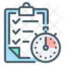 Planning Plan Time Management Icon