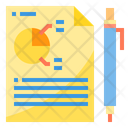 Planning Report Financial Report Icon