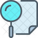 Planning Research Search Icon