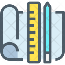 Planning Design Blueprint Icon