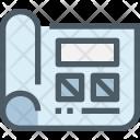 Planning Website Design Icon