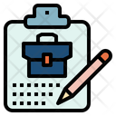Planning Note Business Icon