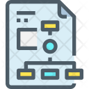 Planning Structure Hierarchy Icon