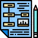 Plan Planning Strategy File Icon