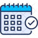 Calendar Clock Planning Icon