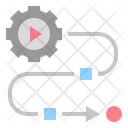 Planning Tactic Strategy Icon