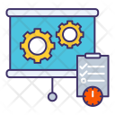 Schedule Planning Presentation Icon