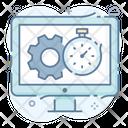 Productivity Efficiency Effectiveness Icon