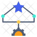 Planning Machination Mapping Icon
