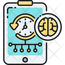 Planning Smart Schedule Time Management Icon