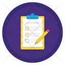 Planning To Do List Checklist Icon