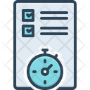 Planning Organized Arrangement Icon