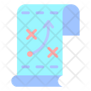 Planning Process Steps Icon