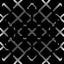 Planning Algorithm Flowchart Icon