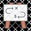Tactic Planning Presentation Icon
