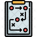 Planning Strategy Workflow Icon