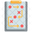 Planning Strategy Business Icon