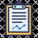 Planning Clipboard Analytics Icon