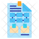 Planning Management Strategy Icon
