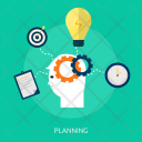 Planning Process Business Icon