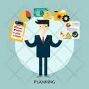 Planning Business Goal Icon